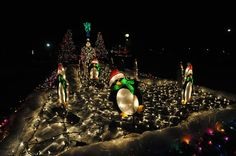 a float in the christmas in ida parade of lights photo by monroe news photographer - Christmas In Ida