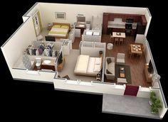 2 yatak odal prefabrik ev modelleri