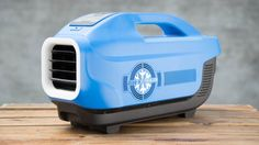 Zero Breeze is a battery-powered portable air conditioner complete with helpful travel features. Besides its primary function of cooling the air in a small
