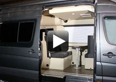 Electronic bed from ceiling for Sprinter
