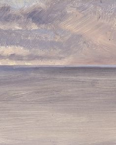 Frederic Edwin Church, Seascape with Icecap in the Distance