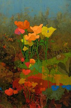 Mark English - 'Blooming (Poppies)' - Telluride Gallery of Fine Art