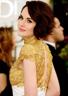 Michelle Dockery at the 70th Annual Golden Globe Awards (2013)