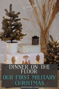 It was the first Christmas of our marriage.It also happened to be the first and only time I had eaten Christmas dinner on the floor. Military Girlfriend, Military Spouse, Military Wedding, Marriage Advice, Love And Marriage, Dating Advice, First Christmas, Christmas Holidays, Christmas Ideas
