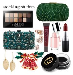 """""""by Pershina"""" by tatiana-pershina on Polyvore featuring MAC Cosmetics, Gucci, Maybelline, GUESS and Lulu*s"""