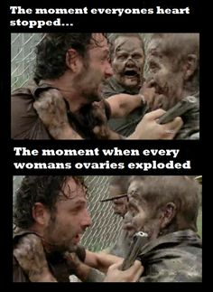 Yup I was almost ready to cry when merle stepped in and saved him,from then on I respected Merle