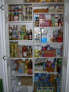Alternative way to build pantry stockpile.