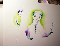 Green leaves by LucyBumpkin on DeviantArt Green Leaves, Watercolor Tattoo, Deviantart, Watercolour Tattoos, Watercolor Tattoos