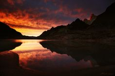 Fitz Roy east face, Patagonia, Argentina  Incandescence Intemporelle by alexandre-deschaumes