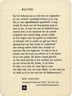 'Buiten' | 'Outside' | 500.000 bierviltjes | 500.000 beermats | Antwerpen | B |