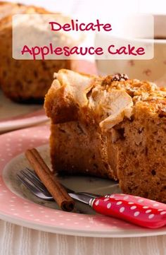 applesauce national perfect super moist this easy cake idea try and for day a Try this super easy and moist applesauce cake a perfect idea for National Applesauce Cake DayYou can find Applesauce cake recipes and more on our website Easy To Make Desserts, Köstliche Desserts, Delicious Desserts, Dessert Recipes, Apple Desserts, Easy Apple Sauce, Apple Sauce Cake, Apple Cake, Apple Recipes