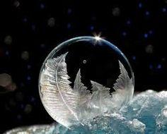 Resultado de imagen para burbujas congeladas
