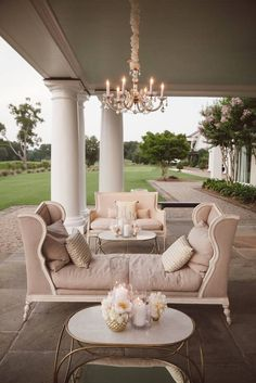 Feminine dream space, Outdoor Living Spaces, Ideas, Outdoor Decor, Home Decor Outdoor Rooms, Outdoor Living, Outdoor Decor, Outdoor Furniture, Outdoor Seating, Lounge Furniture, Pink Furniture, Eclectic Furniture, Outdoor Patios