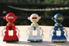 Qonto robots from San Ku Kai