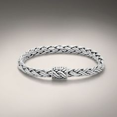 John Hardy Small Braided Bracelet #imagesjewelers #johnhardy #bracelet #braid