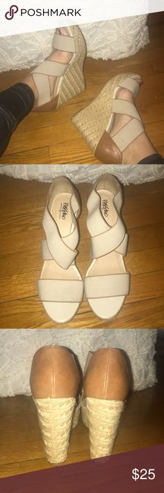 Most comfortable Wedges size 9.5 Most comfortable Wedges size 9.5 Mossimo Supply Co. Shoes Wedges