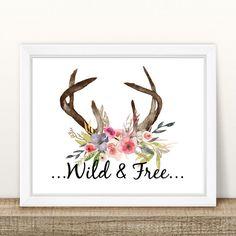 https://www.etsy.com/au/listing/476692550/wild-free-floral-antler-print-8-x-10