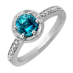 Frederic Sage Blue Pairaiba Tourmaline Ring