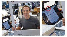 """Se más """"cool"""" tapando tu webcam que Mark Zuckerberg"""