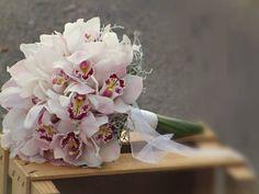 Bouquet de Noiva com orquídeas White orchids Bridal Boquet