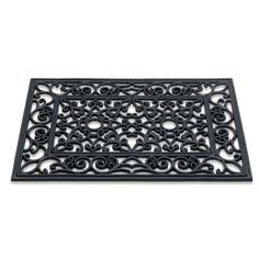 Rubbermat  / Sun rectangle 368 ant 301 / 40 cm x 60 cm /