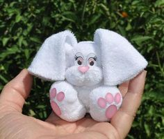 BabyWashcloth Bunny Instructional Video | Craftsy