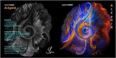 "Luca Fabbri ""ALEgGIA"" / Music composed by Luca Fabbri / Recorded 2006 / Cover and Design by Carina Aprile"