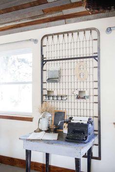 VM designblogg: H λευκή φάρμα με τη vintage ατμόσφαιρα