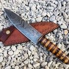 Chef Knife Set, Knife Sets, Damascus Blade, Damascus Steel, Kitchen Ware, Kitchen Knives, D2 Steel, Chef Knives, Low Carbon