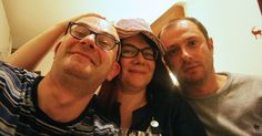 Me, Marc and Stef