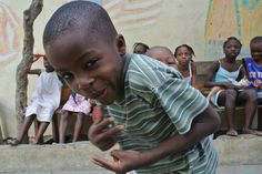 Orphanage in Belaire in Cap Haitien. That face!!!