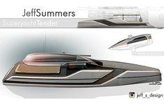 Superyacht Tender on Behance