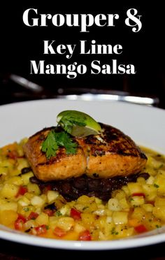 On The Chew, Clinton Kelly shared a meal inspired by a favorite vacation destination. Now you can try his Grouper Recipe with Key Lime Mango Salsa. http://www.foodus.com/the-chew-grilled-grouper-recipe-with-key-lime-mango-salsa/