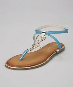 f208b57bb6d This Blue Cancun Sandal by Nature Breeze is perfect!  zulilyfinds Dress For  You