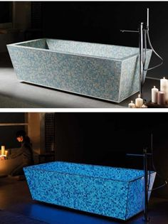 How badly do I want a tub that glows?!