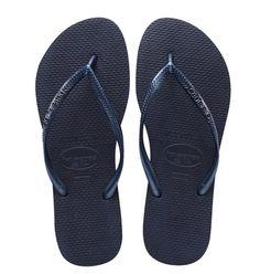 b86a3c6087aa SLIM SANDAL NAVY BLUE- havaianas