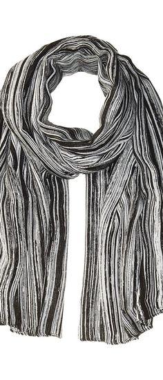 Liebeskind S1179580 Modal Scarf (Nairobi Black Brush Strokes) Scarves - Liebeskind, S1179580 Modal Scarf, S1179580 MODAL, Accessories Scarves General, Scarves, Scarves, Accessories, Gift, - Street Fashion And Style Ideas