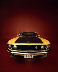 1969 Ford Mustang Boss Shelby Mustangs