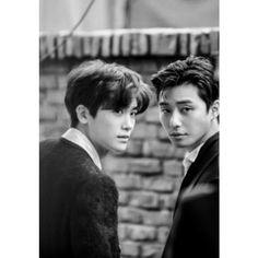 Park Seo Joon & Hyungsik (ZE:A) - Vogue Magazine December Issue Asian Actors, Korean Actors, Park Hyung Shik, Park Seo Joon, Yoo Ah In, Hyung Sik, Joon Hyung, Kdrama Actors, Korean Celebrities