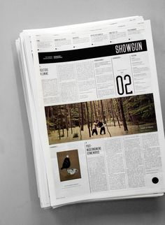 Showgun Chronicle — ISSUE #02, 2010 The Newspaper... - KADK / School of Design — SHOWGUN