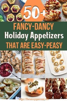 Sep 2019 - These elegant holiday appetizers are actually easy to make! You can serve fancy holiday appetizer recipes without the stress These are some of the best easy and elegant appetizers to bring to a party this Thanksgiving and Christmas! Best Christmas Appetizers, Holiday Party Appetizers, Elegant Appetizers, Holiday Snacks, Snacks Für Party, Finger Food Appetizers, Easy Appetizer Recipes, Holiday Recipes, Finger Foods