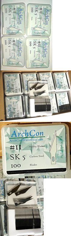 4 xacto, Exacto Style 400 HOBBY CRAFT BLADES #11 100 pack ArchCon Warehouse