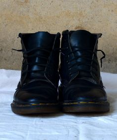 Original Grunge Doc Martin Boots (My 1st pair of Docs...1989...and i still have them, except i cut them down to shoes)
