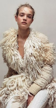 Wooly Bully, French Vanilla, Natural Looks, Boho Fashion, Fictional Characters, Editorial, Ivory, Textiles, Style