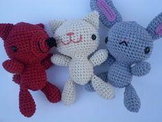 pica-pau: Patrón mini zorro Lucas / Amigurumi little fox pattern