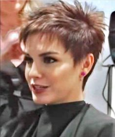 Short Hairstyles For Thick Hair, Short Thin Hair, Short Hair With Layers, Short Hair Styles, Short Cropped Hair, Super Short Hair, Thin Hair Cuts, Short Hair Cuts For Women, Crop Hair