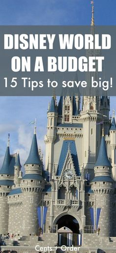 15 Tips to save hundreds on a Disney World vacation! Disney can be enjoyed even on a budget with these money saving tips. 15 Tips to save hundreds on a Disney World vacation! Disney can be enjoyed even on a budget with these money saving tips. Disney World Resorts, Viaje A Disney World, Disney World Tipps, World Disney, Disney World Tips And Tricks, Disney Tips, Disney Vacations, Disney Travel, Family Vacations