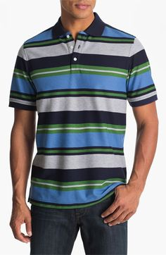 Nordstrom Stripe Polo available at #Nordstrom