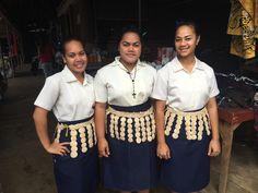 Tongans at the market