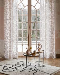 rideaux a motifs